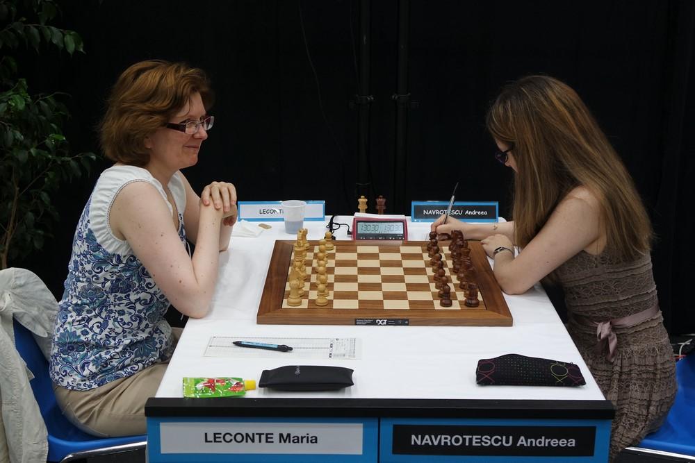 Maria Leconte contre Andreea Navrotescu