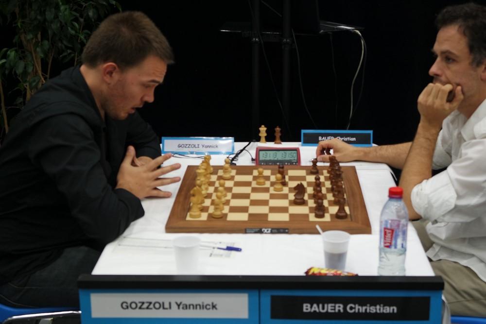 Yannick Gozzoli contre Christian Bauer