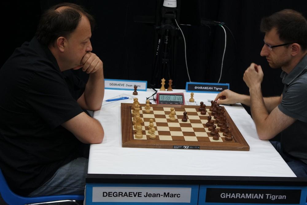 Jean-Marc Degraeve contre Tigran Gharamian