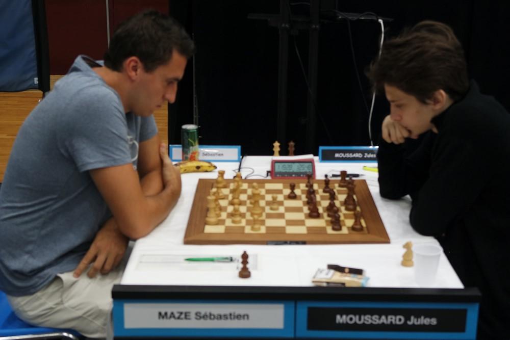Sébastien Mazé contre Jules Moussard