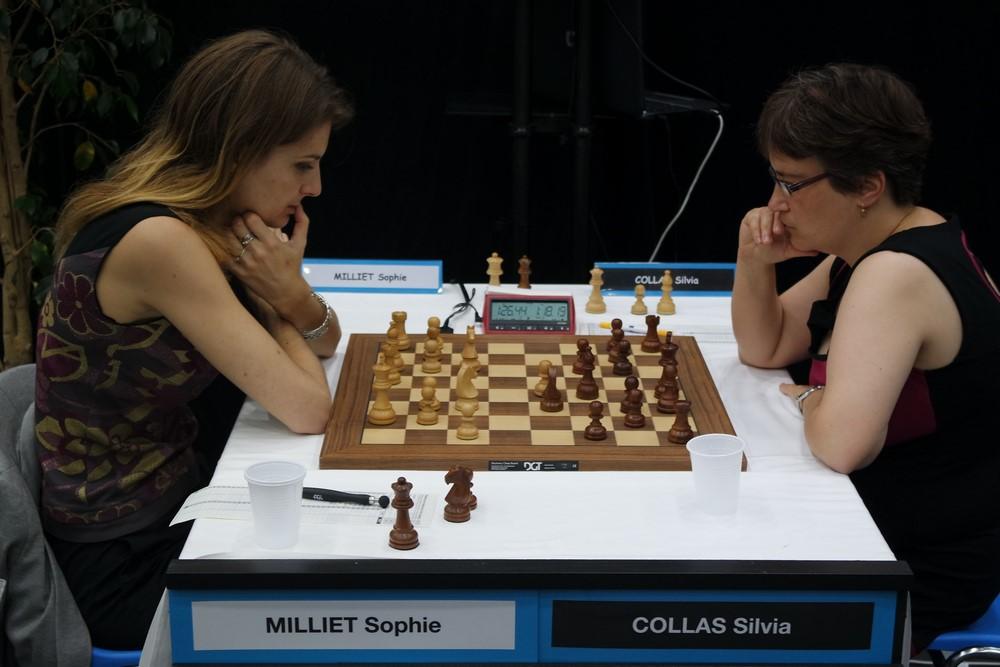 Sophie Milliet contre Silvia Collas