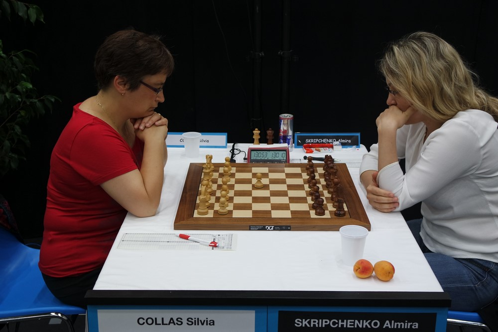 Sivia Collas contre Almira Skripchenko