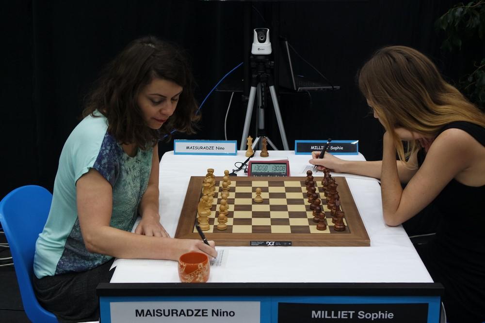 Nino Maisuradze contre Sophie Milliet
