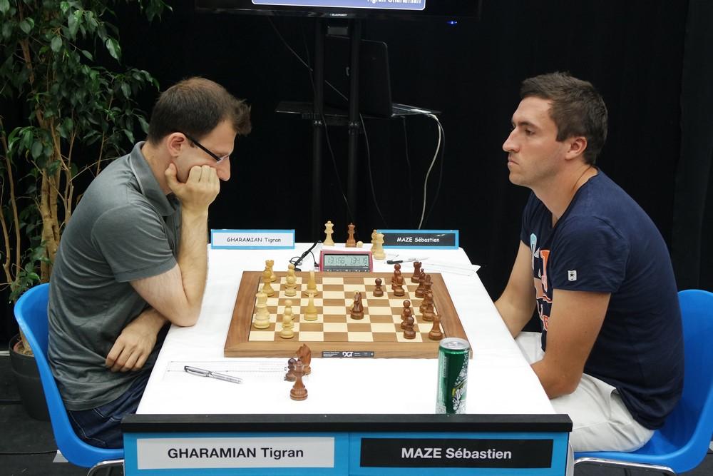 Tigran Gharamian contre Sébastien Mazé