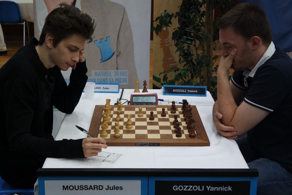Jules Moussard contre Yannick Gozzoli