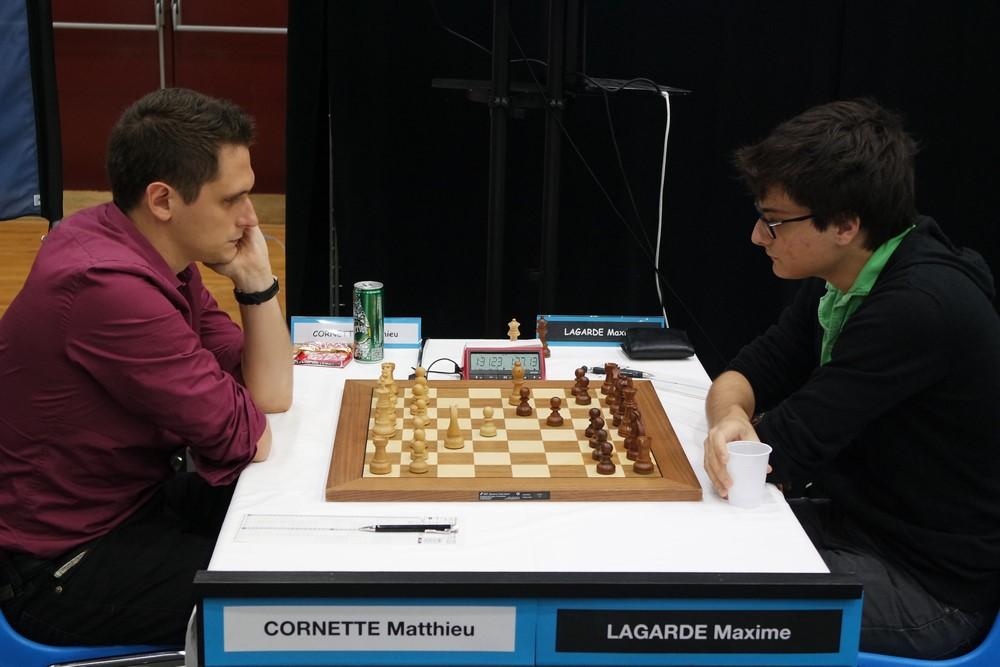 Matthieu Cornette contre Maxime Lagarde
