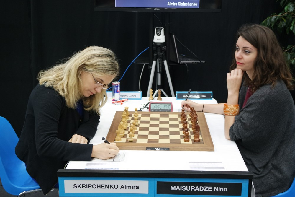 Almira Skripchenko contre Nino Maisuradze