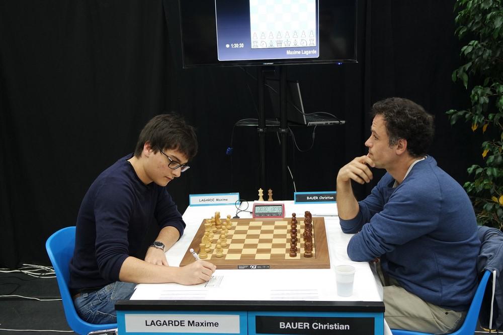 Maxime Lagarde contre Christian Bauer