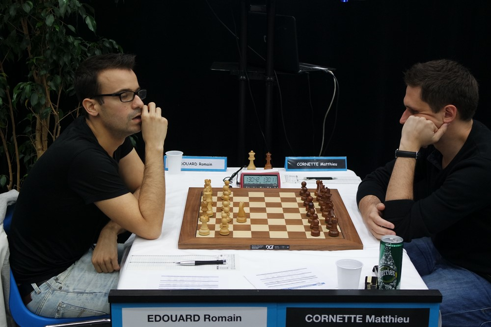 Romain Edouard contre Matthieu Cornette