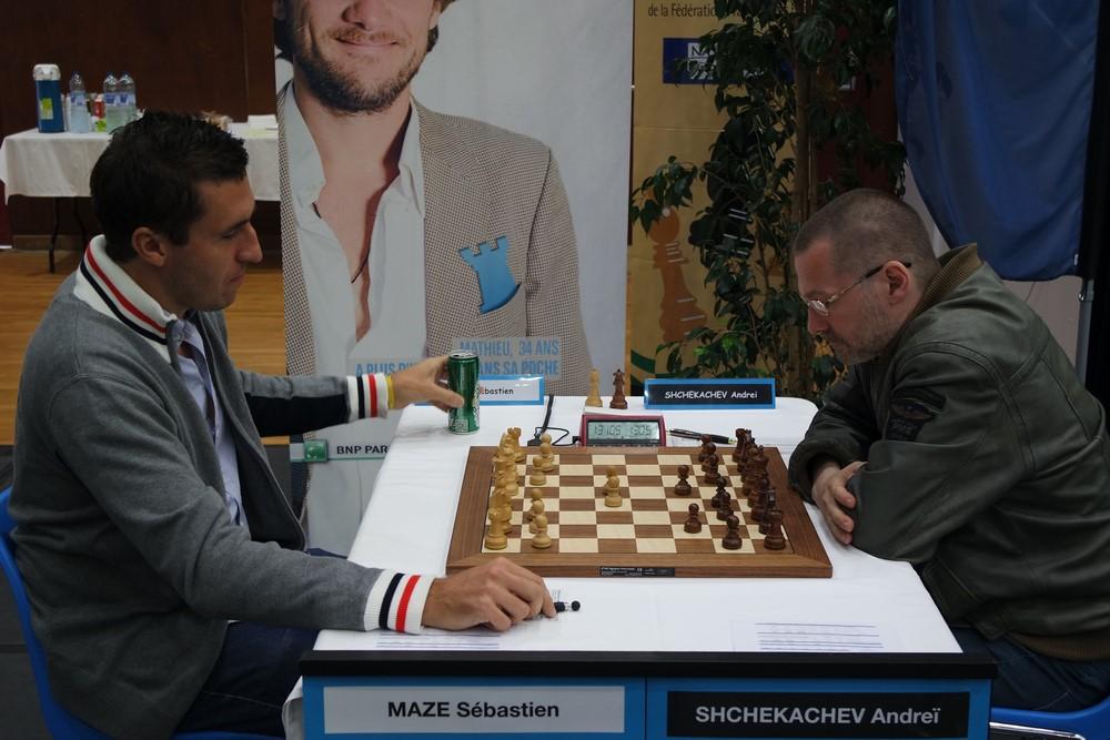 Sébastien Mazé contre Andrei Shchekachev