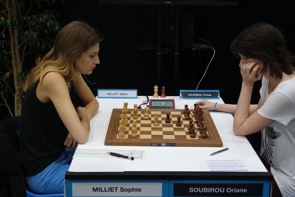Sophie Milliet contre Oriane Soubirou