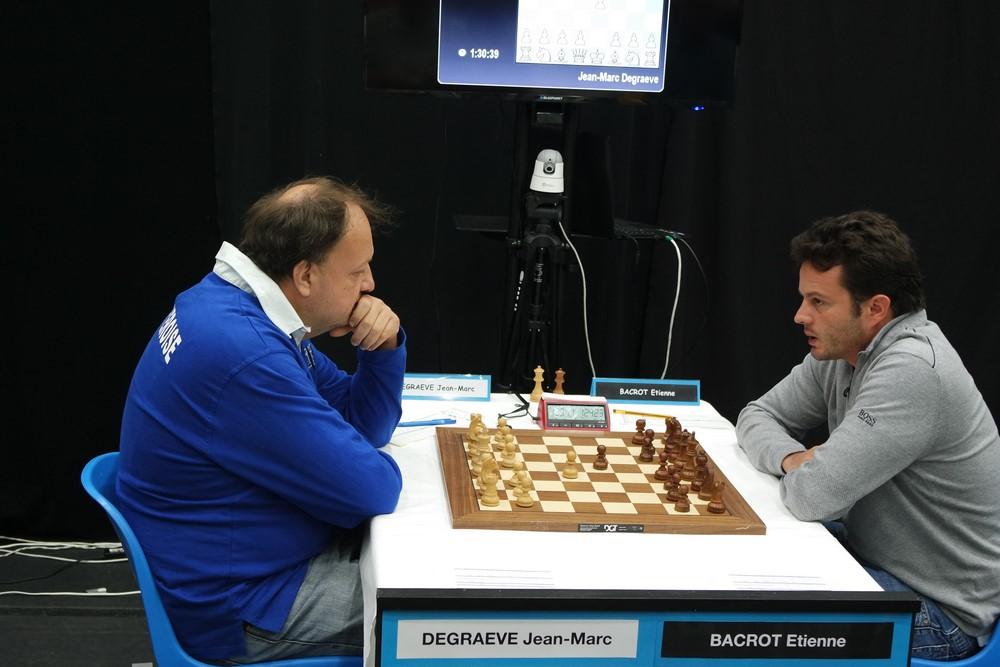 Jean-Marc Degraeve contre Etienne Bacrot