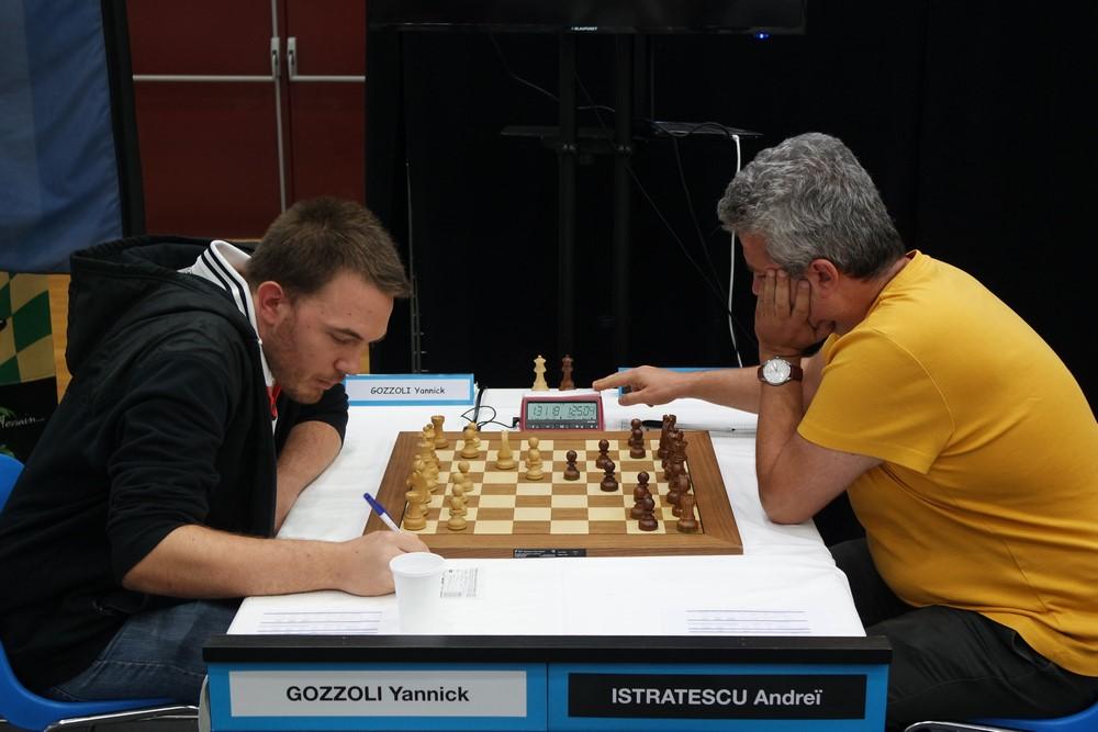 Yannick Gozzoli contre Andrei Istratescu